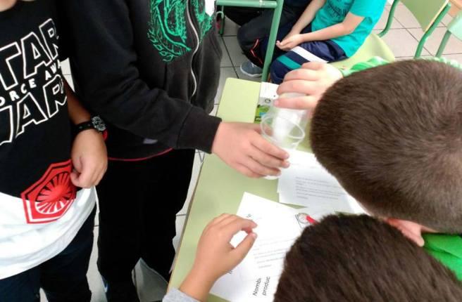 Detectives en el cole Félix Morales consumo salud escuela CEIP Montaña Pacho 2016