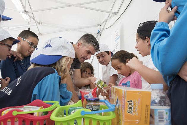 Detectives en el cole Félix Morales consumo salud escuela Concísate foto Rafa Avero