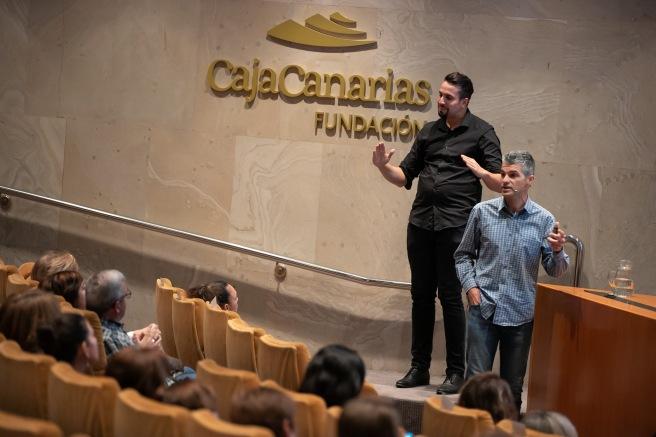 Félix Morales CajaCanarias ayudas sociales Detectives en el Cole