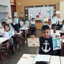 Detectives cole CEIP Cabo Blanco - diplomas 1